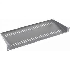 190mm Deep Modem/Cantilever Vented Shelf 1U