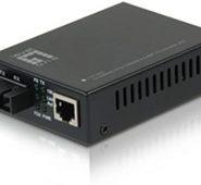 Levelone Fvt-2001 10/100base-Tx To 100base-Fx Mmf Sc Mini Media Converter, 2km