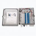 EVI Fiber Optic Distribution Box 12 Simplex SC Adapters